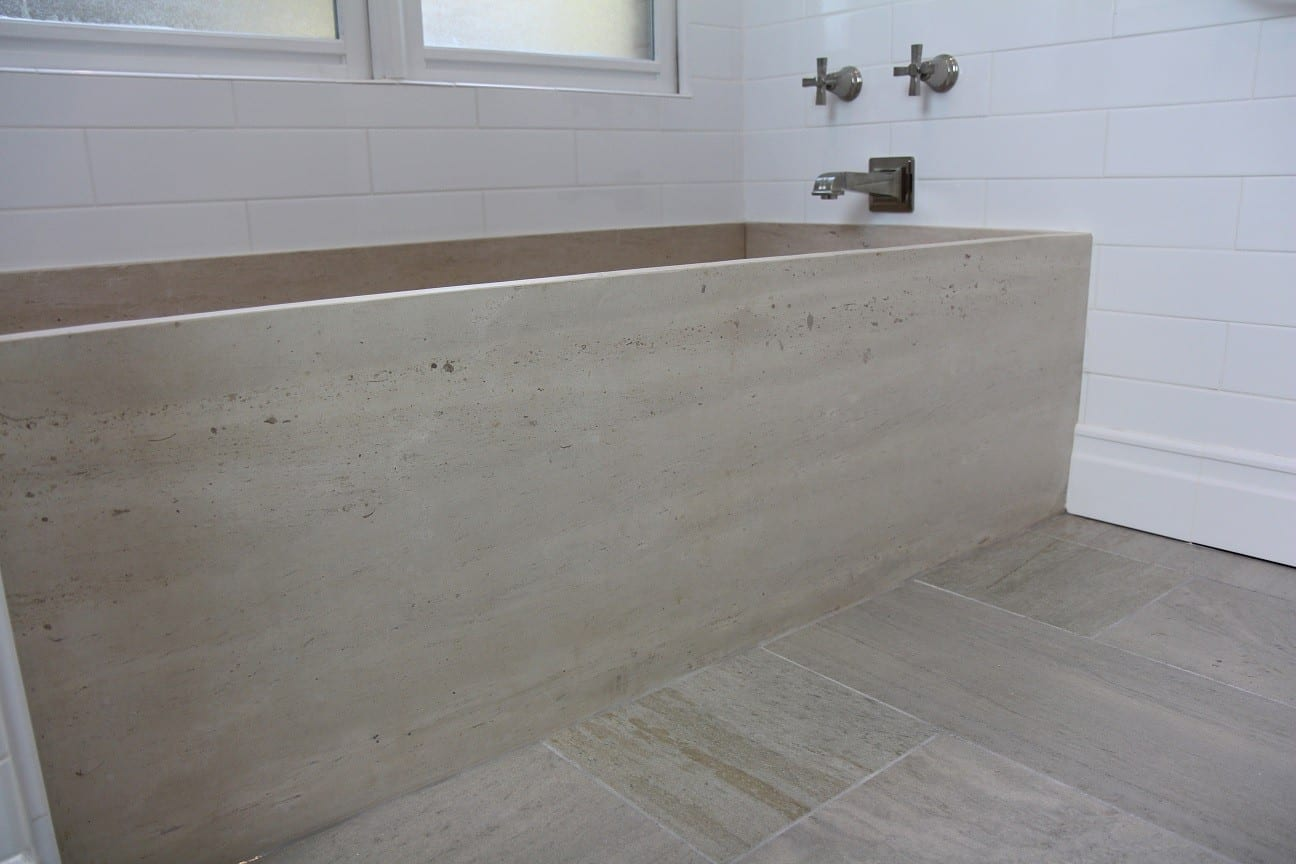 Limestone Tub Luxury Bathroom Products