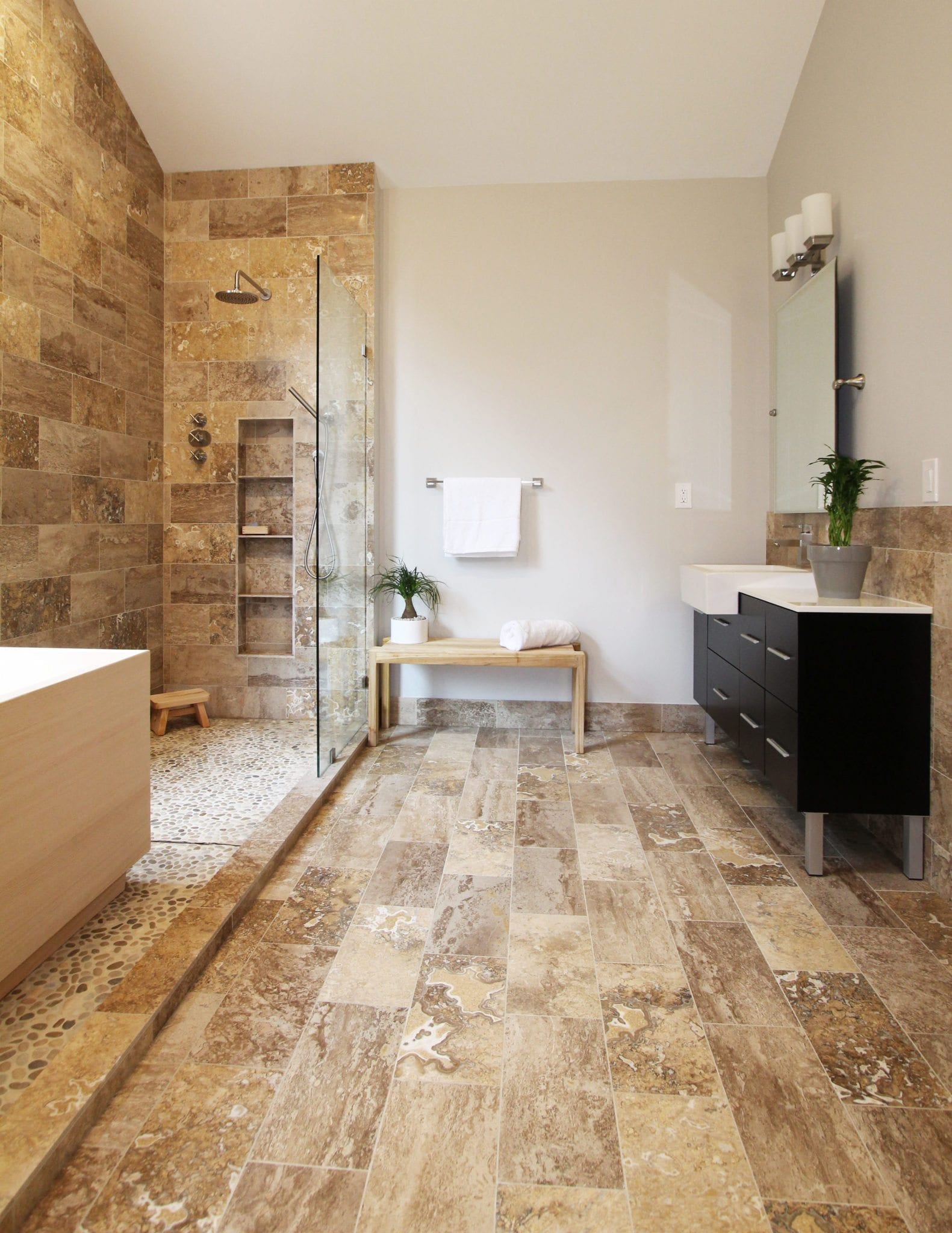 Travertine bathroom tile 28 images atlanta shower remodel travertine shower ideas pictures Travertine bathroom pictures