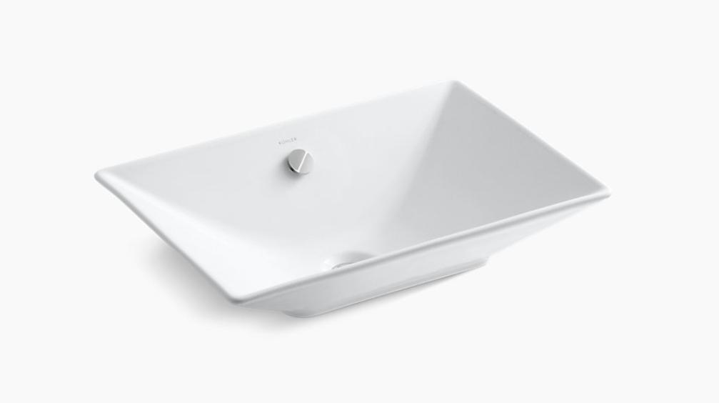 Kohler Rectangle Vessel Sink Luxury Bathroom Products