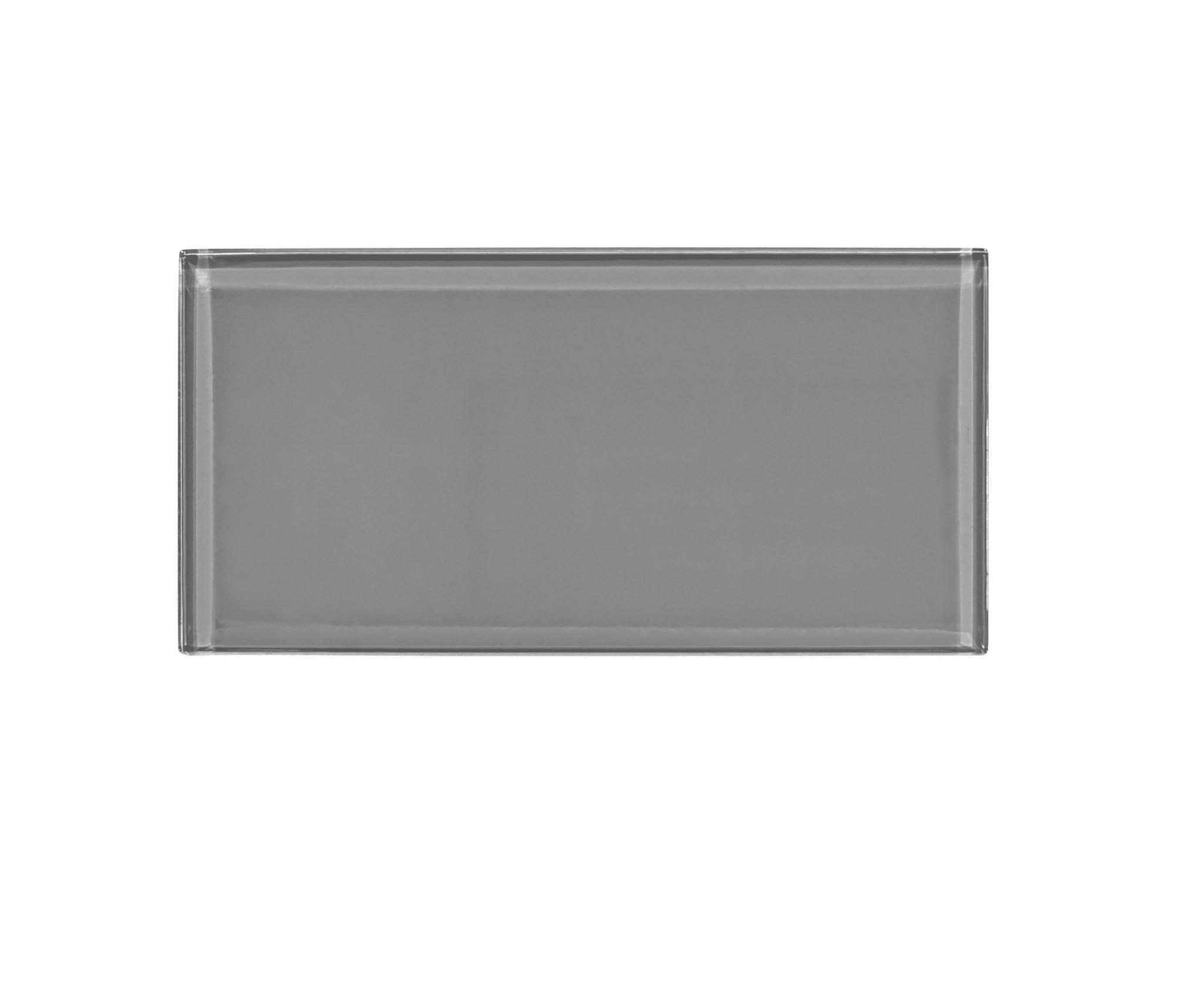 3 X 6 In Gray Glass Tile