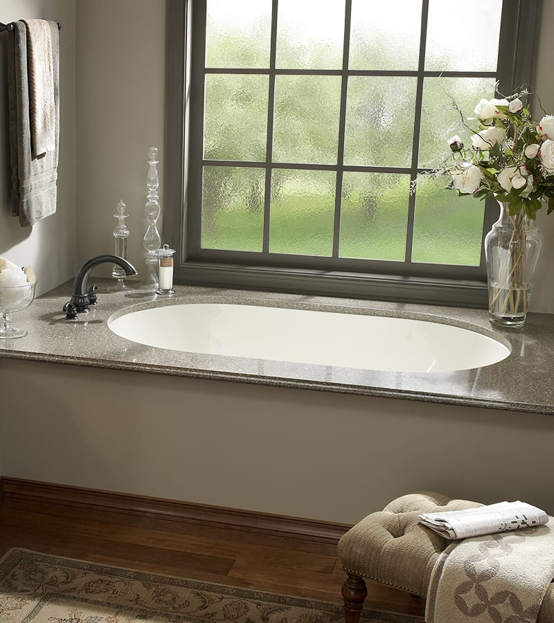 New Yorker 2 Undermount Tub with Air Massage - Luxury Bathroom Products